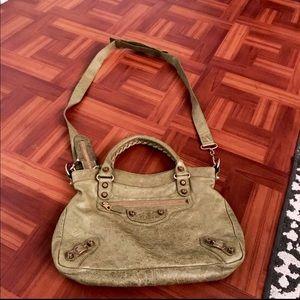 Balenciaga mini City Green shoulder Bag